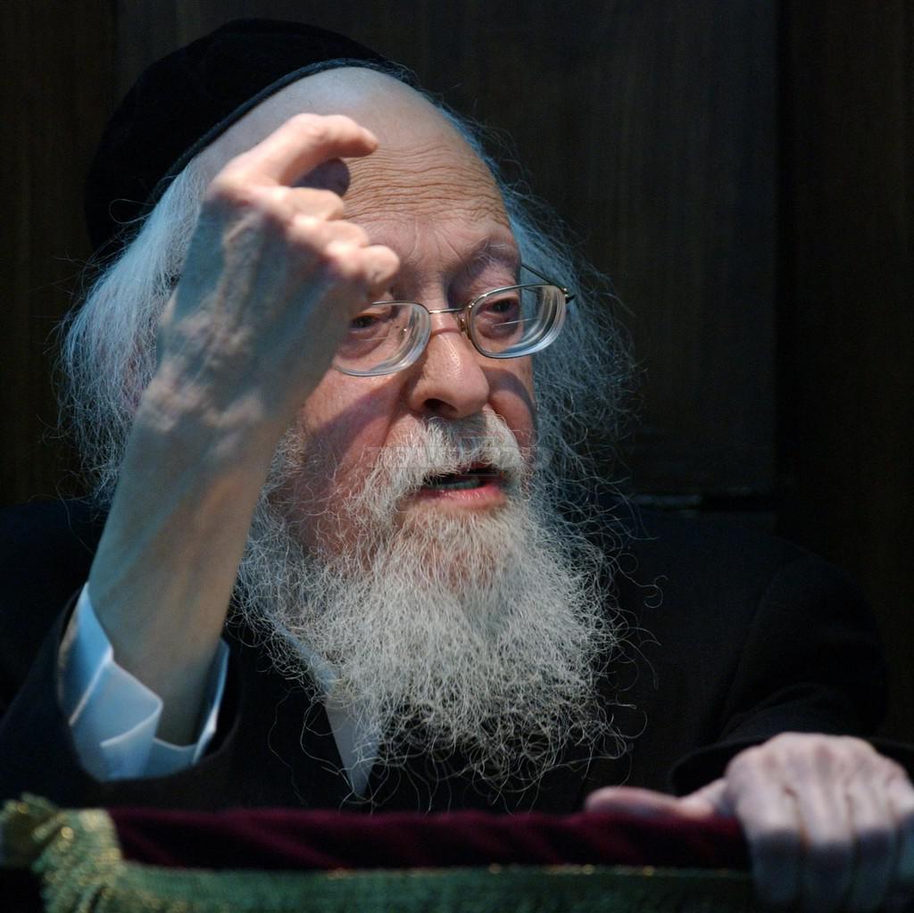 מרן הגרי''ש אלישיב זצ''ל (צילום: פלאש 90)