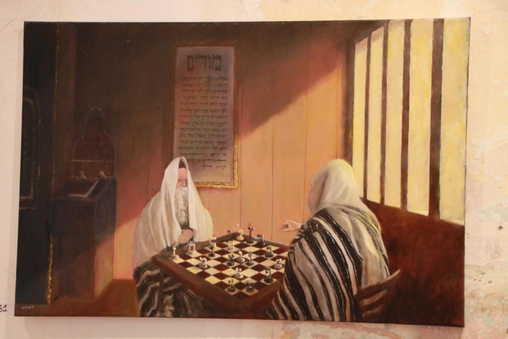 אחד מציוריו של דוד לואיס ז''ל (יח''צ)