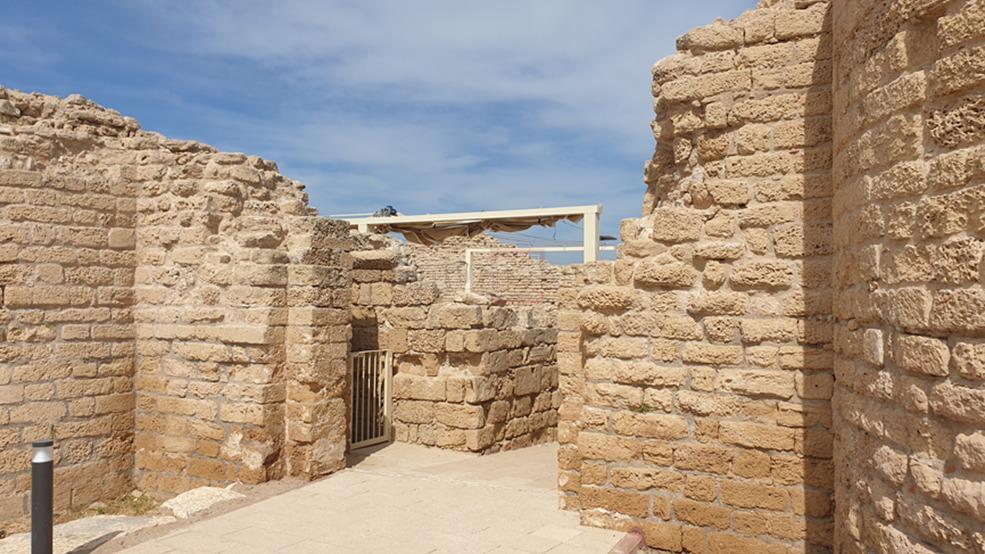 מבצר 'אַשְׁדּוֹד יָם' (צילום: עמותת 'עמק שוה')