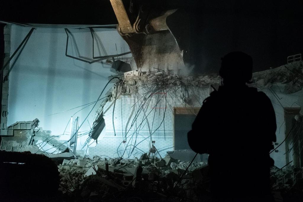 הרס בית המחבל (צילום: דובר צה''ל)