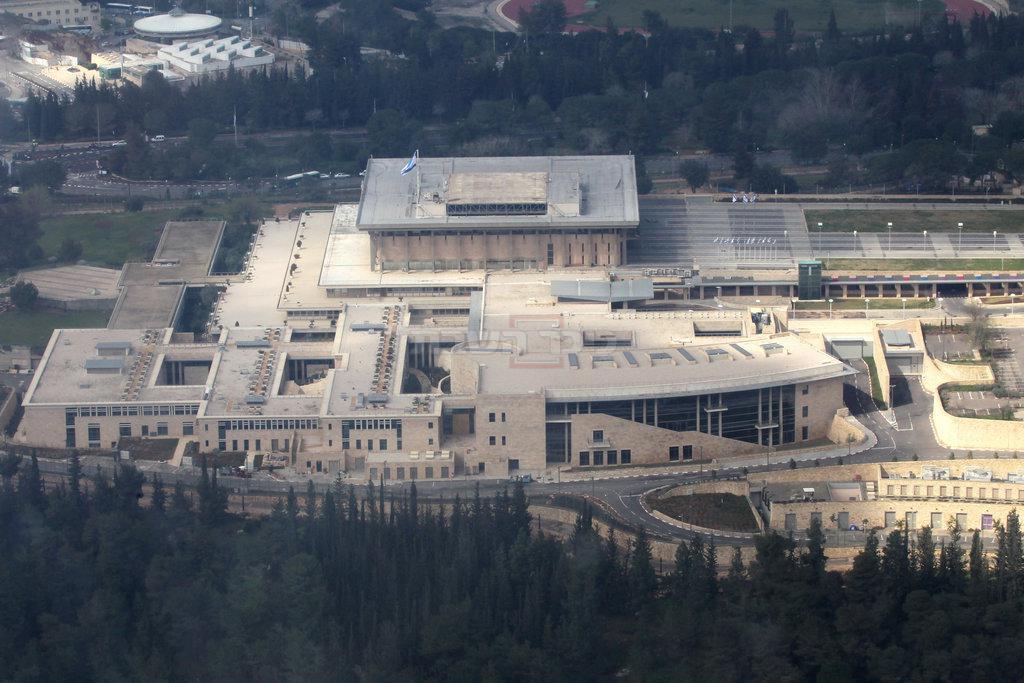 משכן הכנסת (צילום: Nati Shohat/Flash90)