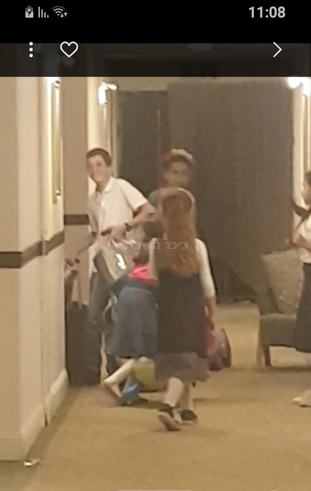 היי... הגענו למלון