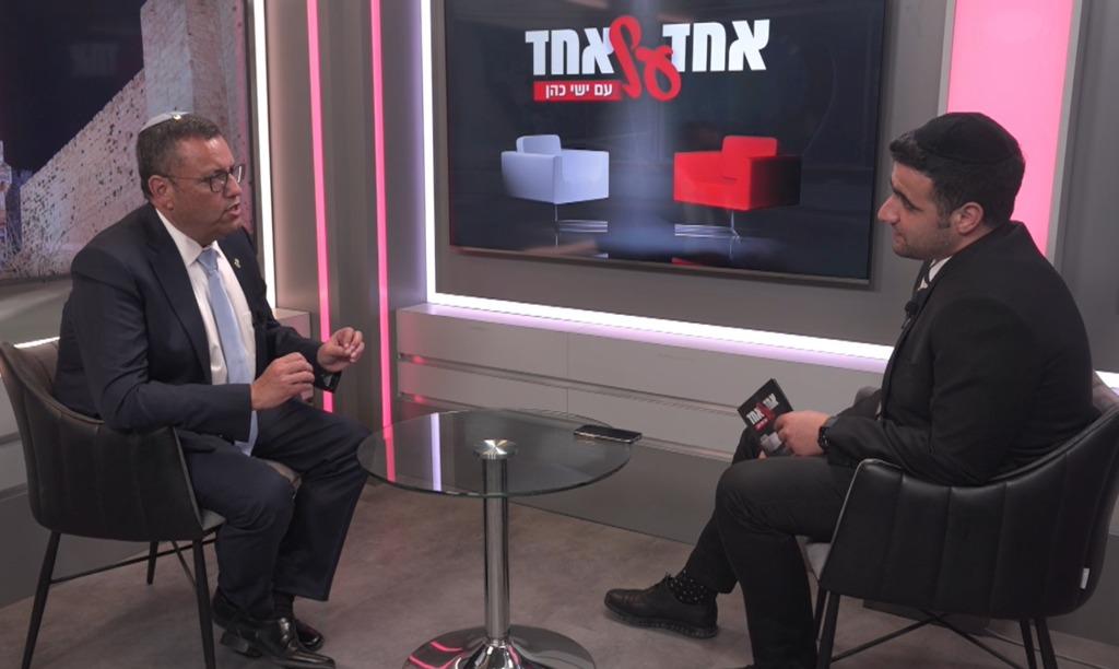 ראש עיריית ירושלים משה ליאון בריאיון לישי כהן