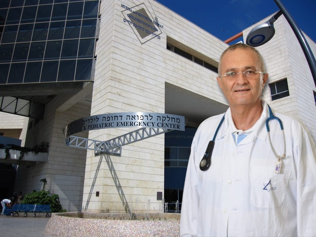 ד''ר יעקב שכטר, מנהל מחלקת ילדים בבי''ח לניאדו