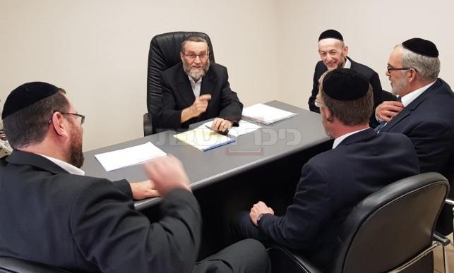 חמישיית חברי הכנסת של 'דגל התורה' (באדיבות המצלם)