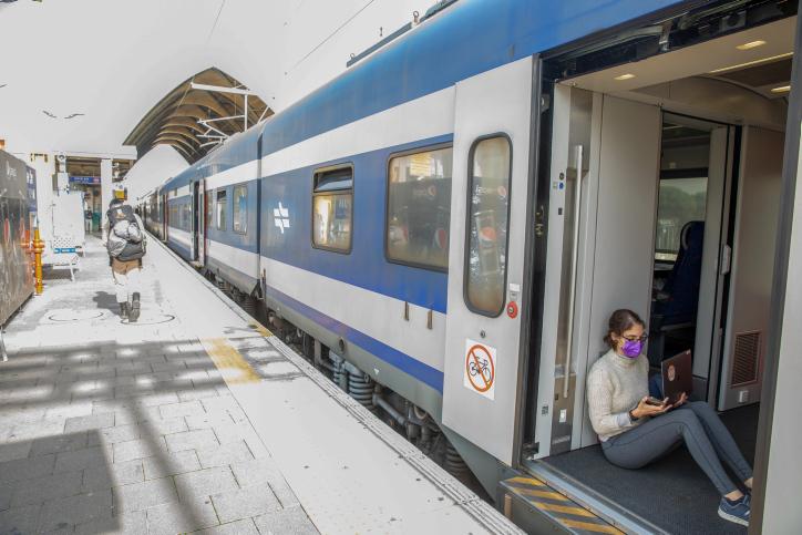 רכבת ישראל. ללא הגבלות (יוסי אלוני, פלאש 90)