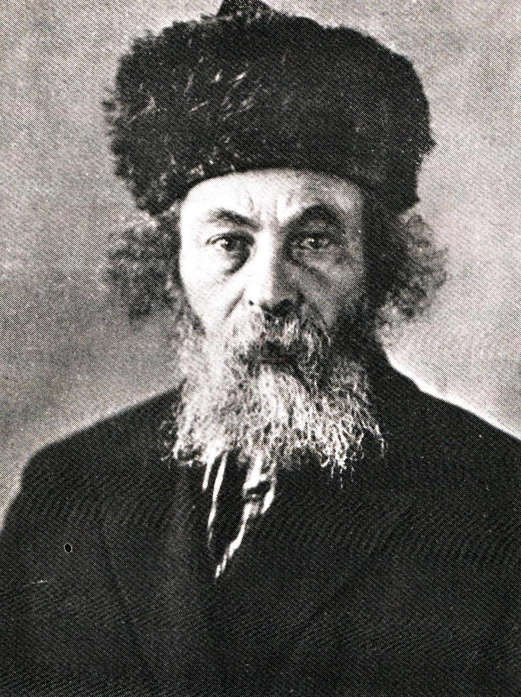 הגאון רבי משה לנדינסקי זצ''ל ראש ישיבת ראדין במשך 40 שנים (צילום: מתוך הספר ''מי כמוך'' מאת יעקב קהאן)