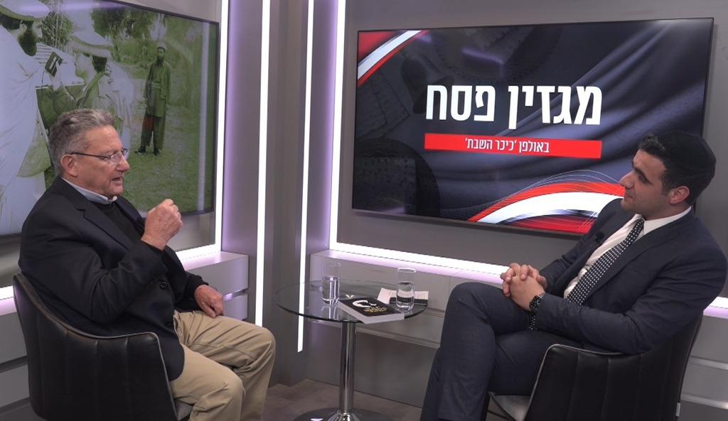 רון בן ישי בריאיון לישי כהן באולפן 'כיכר'