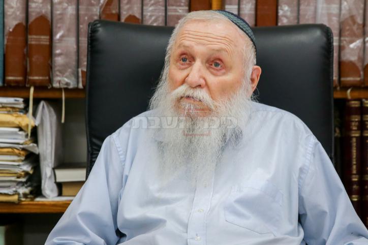 הרב חיים דרוקמן (צילום: אבי דישי, פלאש 90)