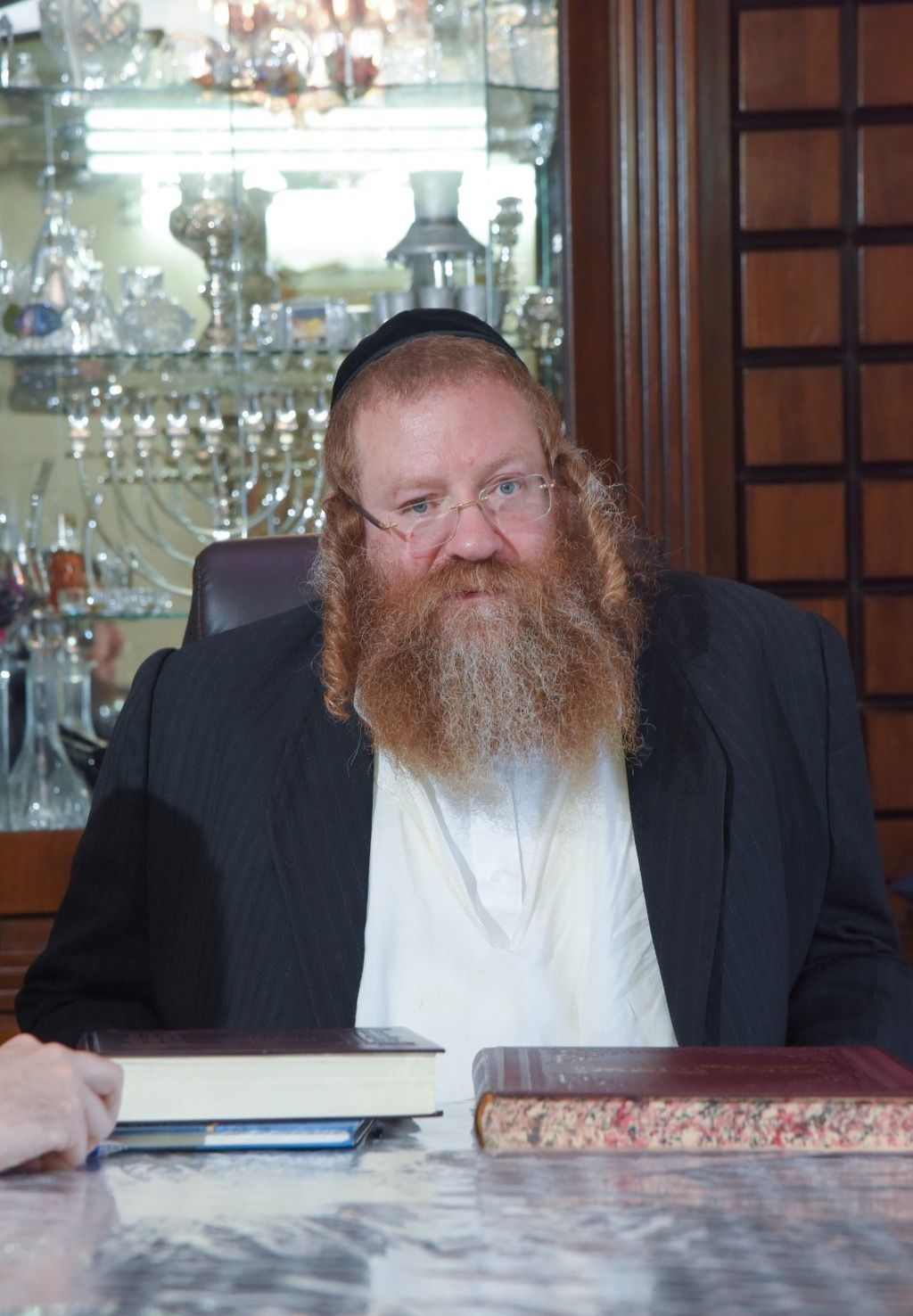 הרב לייבל מינצברג (צילום: פנחס עמנואל)