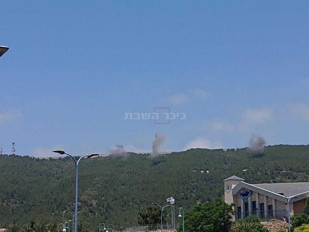פיצוצים מהצפון- מלבנון. מבוקר בידי האו''ם (מועצת שלומי)