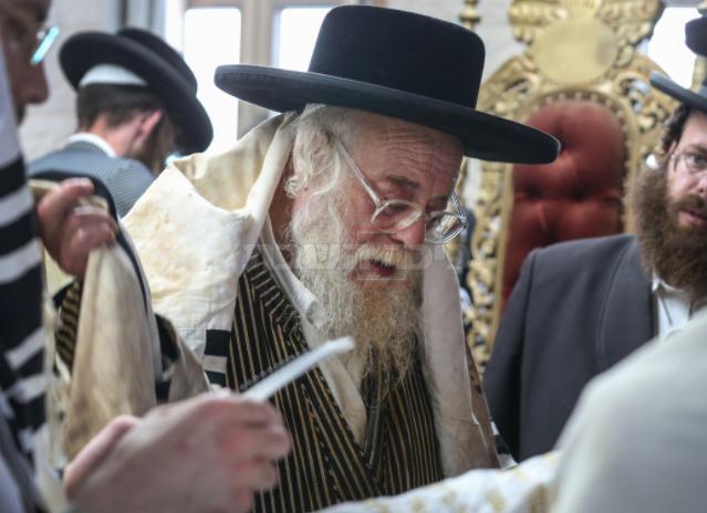 האדמו''ר (צילום: דוד כהן, פלאש 90)
