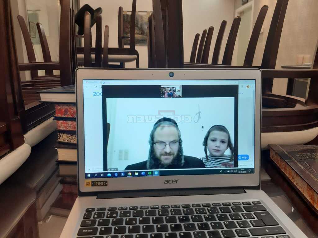 סופר 'משפחה' ר' דוד דמן בלימוד בחברותא דרך 'זום'