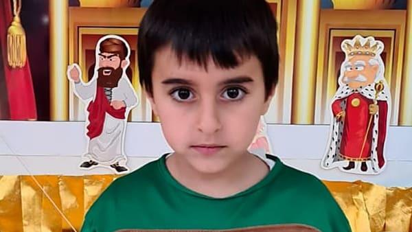 עידו הי''ד, הילד שנהרג (צילום משפחתי)