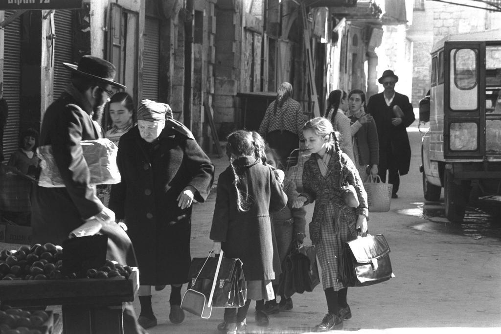 מאה שערים, 1978 (צילום: ELDAN DAVID, לע''מ)