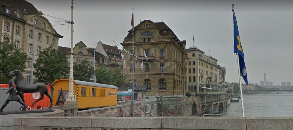 מלון שלושת המלכים (צילום: גוגל מפות)