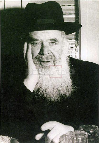 רבי חיים שמואלביץ זצ''ל (צילום: מתוך ויקיפדיה)