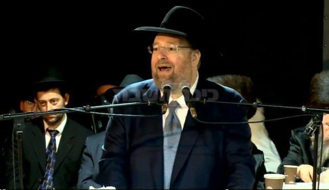 הנגיד הרב שלמה יהודה רכניץ  (יח''צ, ארכיון כיכר)