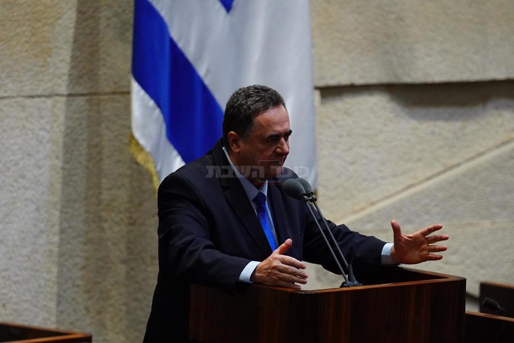 שר האוצר ישראל כץ (צילום: דוברות הכנסת, עדינה ולמן)