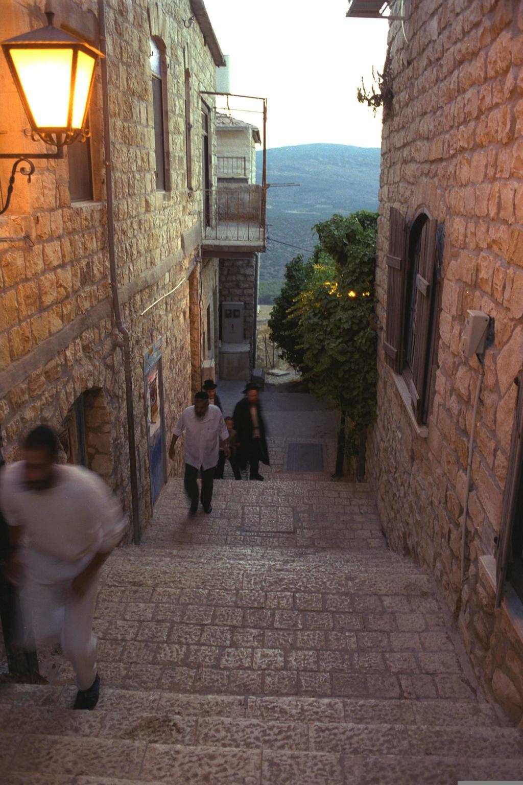סמטאות צפת, 1999 (צילום: OHAYON AVI, לע''מ)
