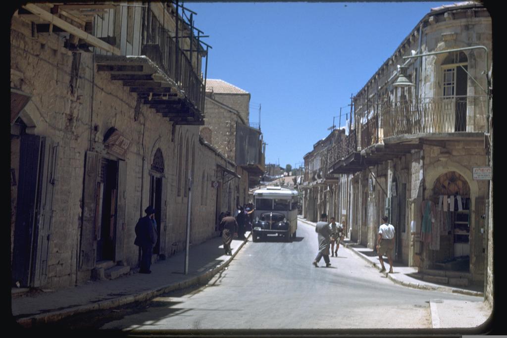 מאה שערים, 1950 (צילום: SEYMOUR KATCOFF, לע''מ)