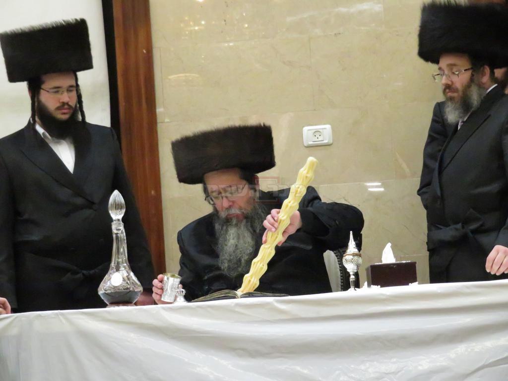 המשב''קים הרב ענגל והרב גולדשטיין (באדיבות חצר שבט הלוי)