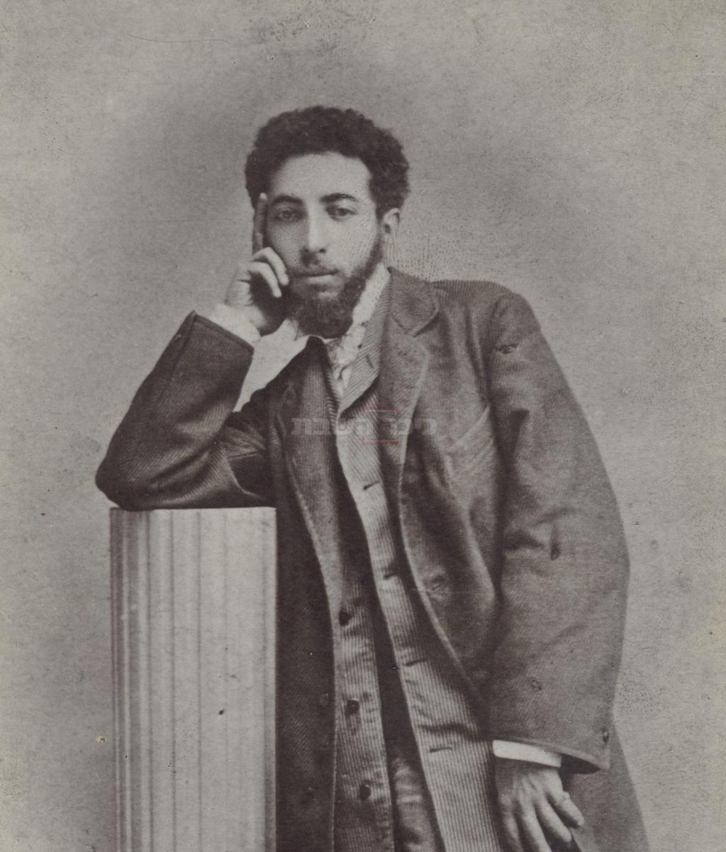 מאוריצי גוֹטליבּ בשנתו האחרונה (הספרייה הלאומית לישראל, ויקיפדיה)