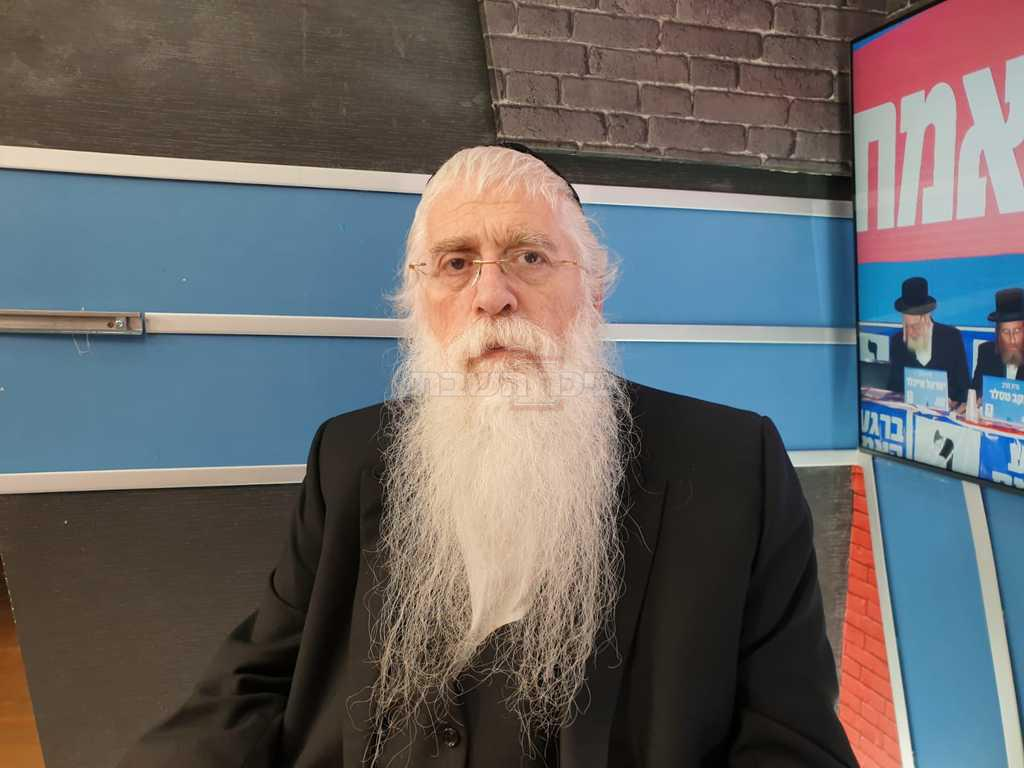 ח''כ מאיר פרוש (צילום: אולפן כיכר השבת)
