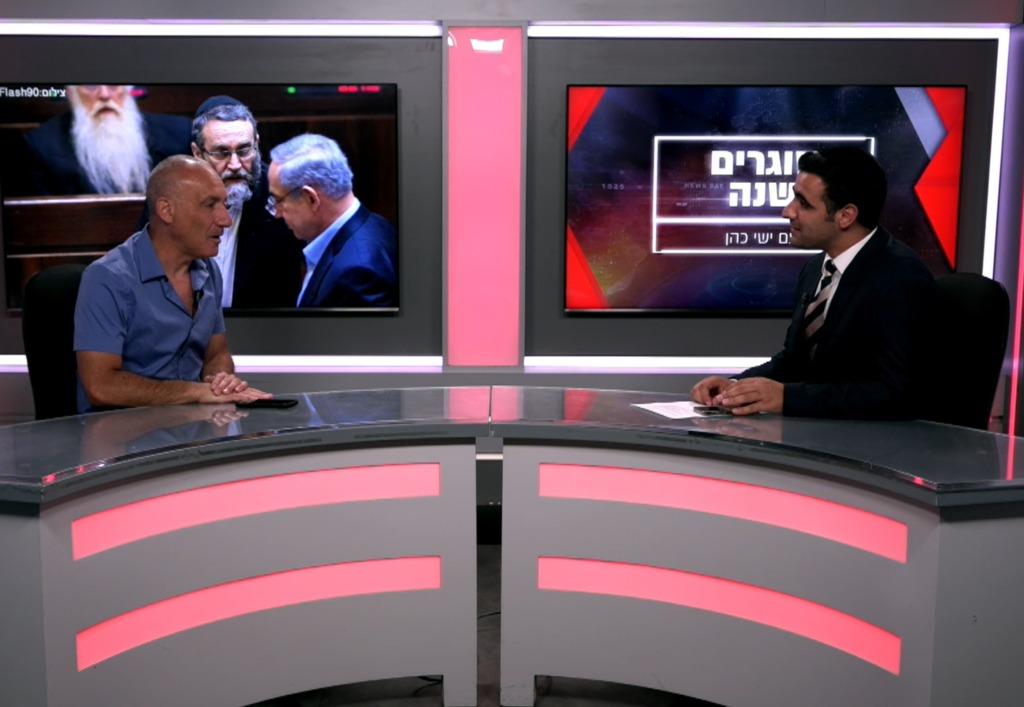 יואב קרקובסקי מסכם שנה עם ישי כהן באולפן 'כיכר'