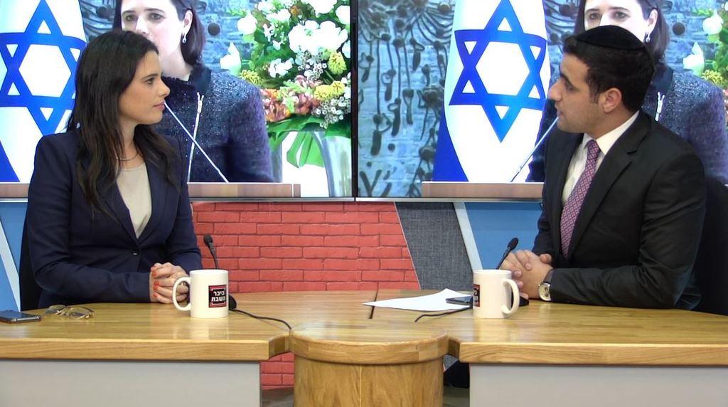 ח''כ איילת שקד באולפן 'כיכר השבת'