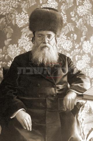 רבי אהרון לוין אב''ד רישא (מתוך ויקיפדיה, ללא קרדיט)