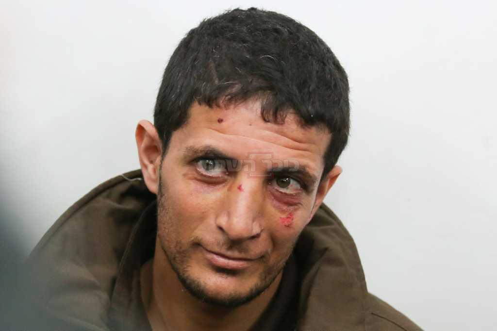 פני הרוע: המחבל הרוצח (צילום: חיים גולדברג, כיכר השבת)