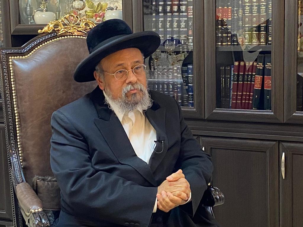 הרה''צ רבי אבנר עפג'ין בראיון ל'כיכר השבת'