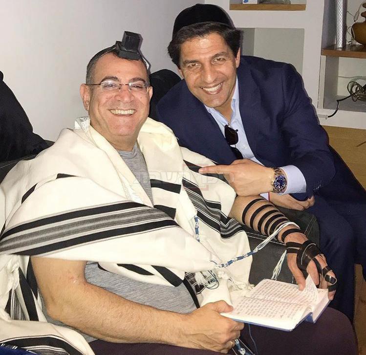 הרב מרדכי חסידים עם אלי יצפאן