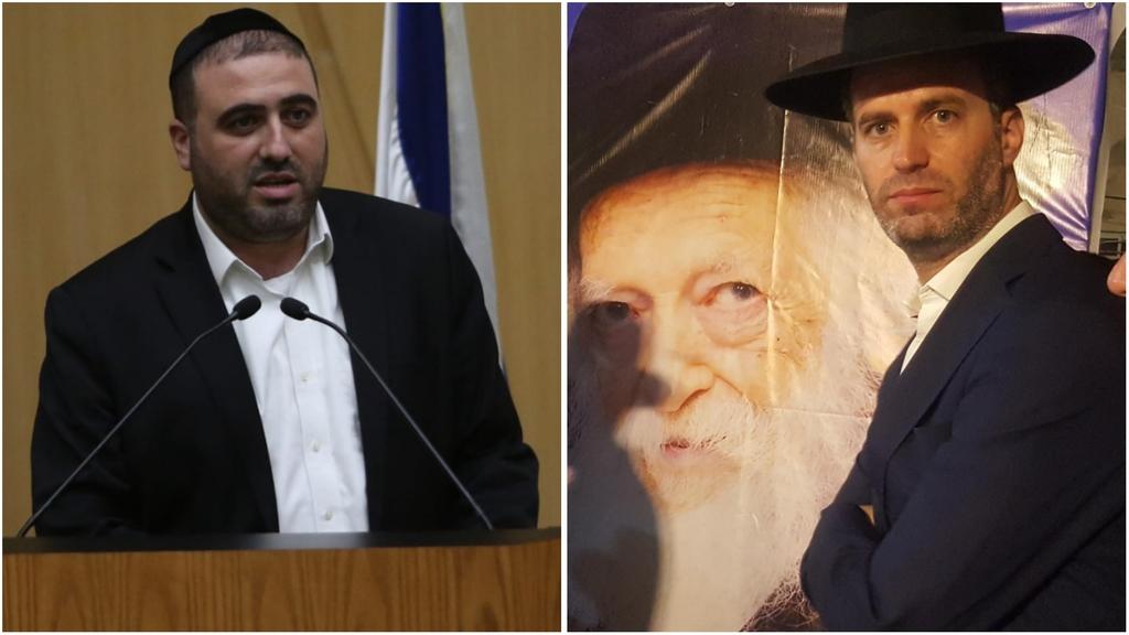 שלומי פולק וח''כ משה ארבל (צילום: חיים גולדברג, כיכר השבת)