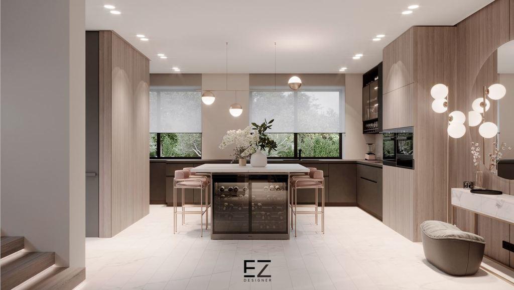 הפרדה חכמה בין החללים, תורמת לשילוב מושלם בינהם (EZ Designer)