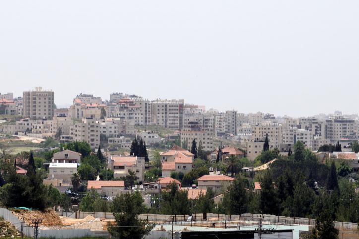 מבט על התיישבות בית אל. אילוסטרציה (צילום: גילי יערי, פלאש 90)