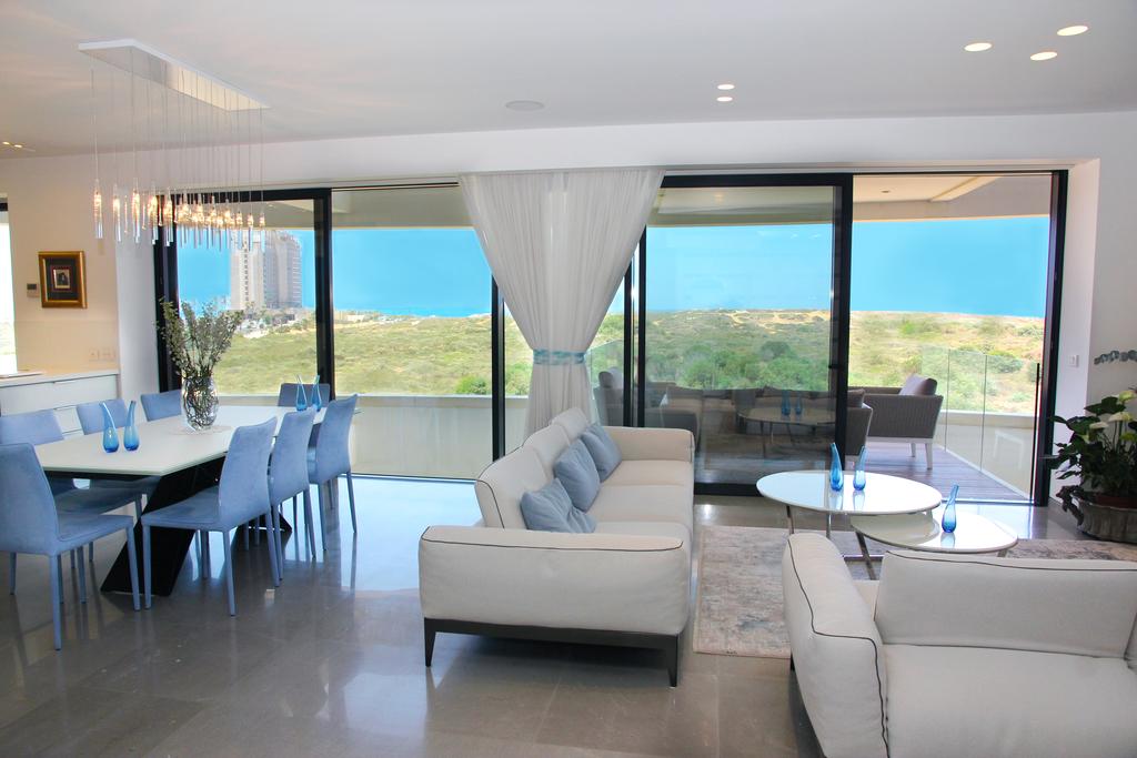ההשראה: הבית עם הנוף הפנורמי לים, אדריכלית: מיכל יפתח רותם (צילום: צבי רותם)