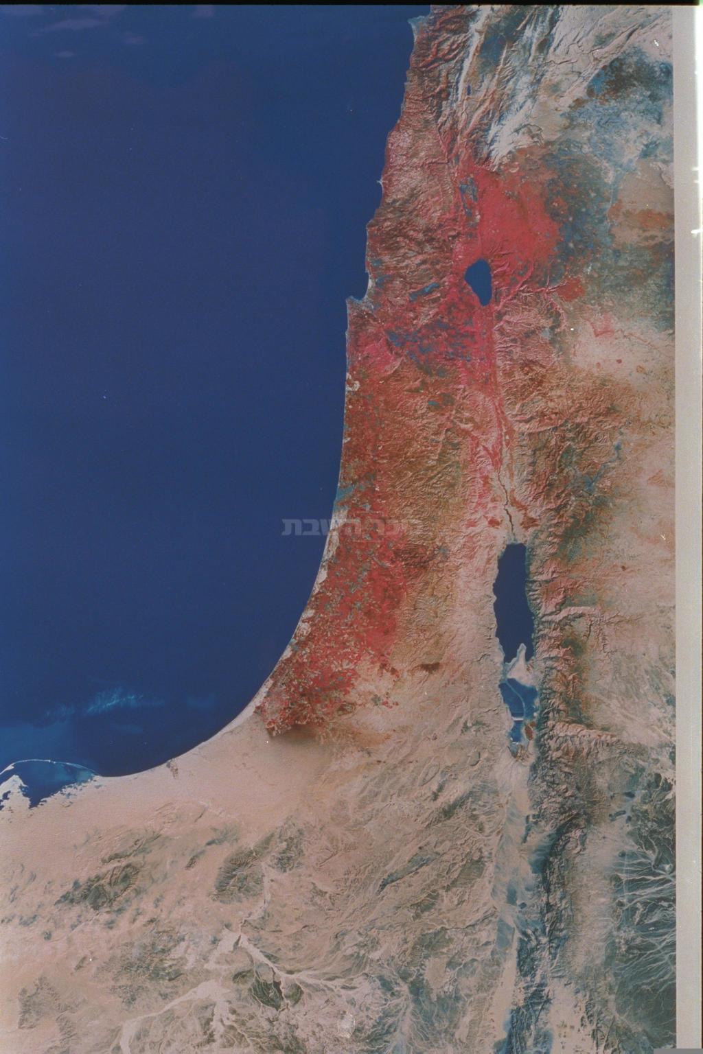 צילום לוין של מדינת ישראל (צילום: SA'AR YA'ACOV, לע''מ)