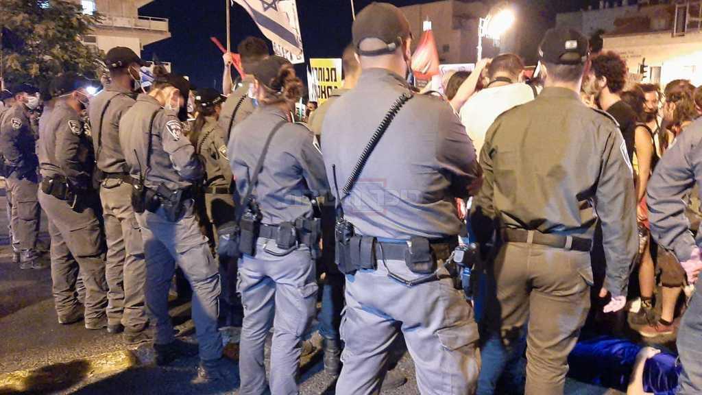 ההפגנה בירושלים (צילום: חיים גולדברג, כיכר השבת)