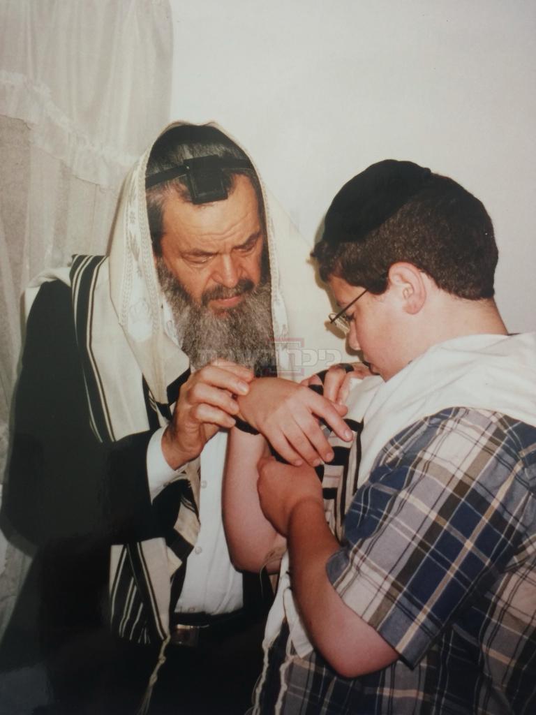 הרב בן שלום זצ''ל עם הרב גולדשמידט