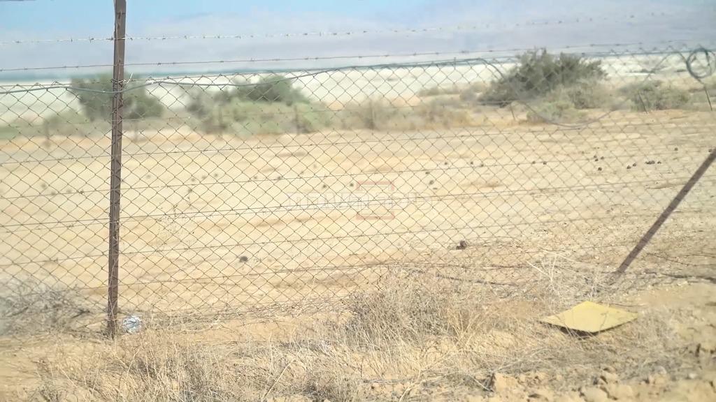 המוקשים שבסמוך לגבול (צילום: דובר צה''ל)