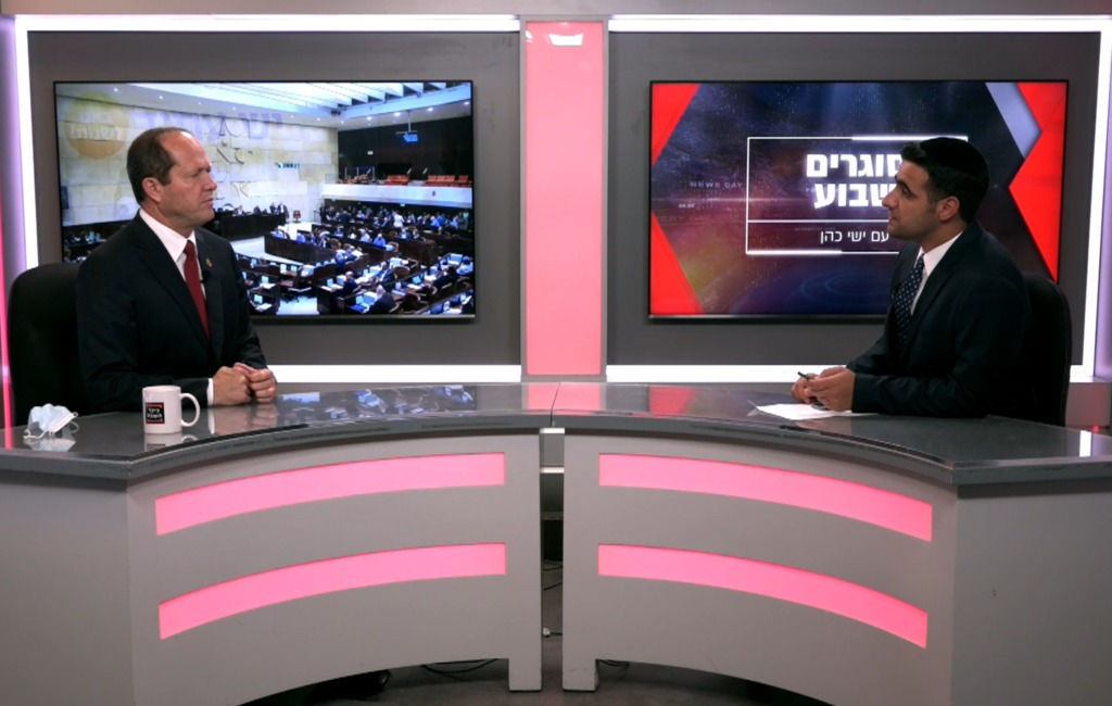 ח''כ ניר ברקת בריאיון לישי כהן