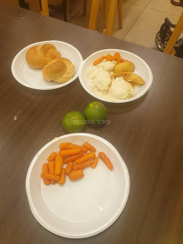האוכל במלונית