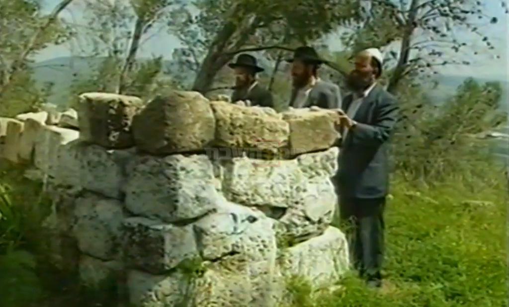 גיולי הקבר (צילומסך: יוטיוב, הרב יאיר זמר טוב)
