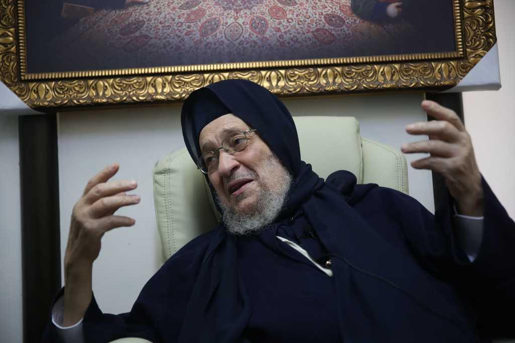 האדמו''ר רבי ברוך אבוחצירא בשיחה ל'כיכר השבת'