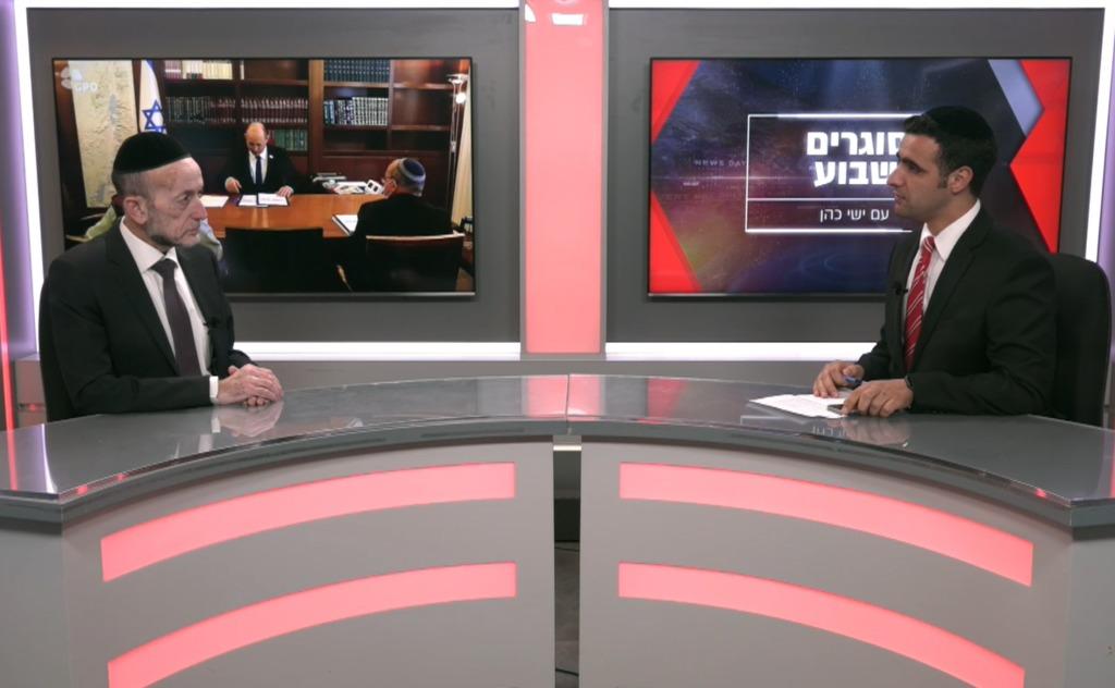 ח''כ אורי מקלב בריאיון לישי כהן