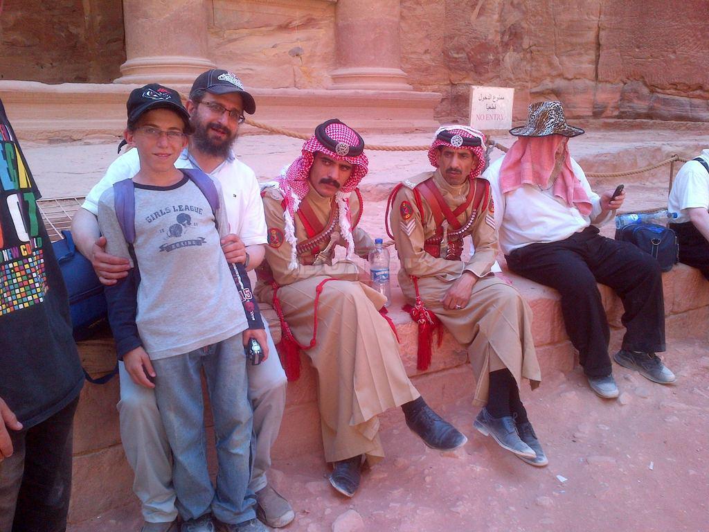 יהודים מבקרים בירדן