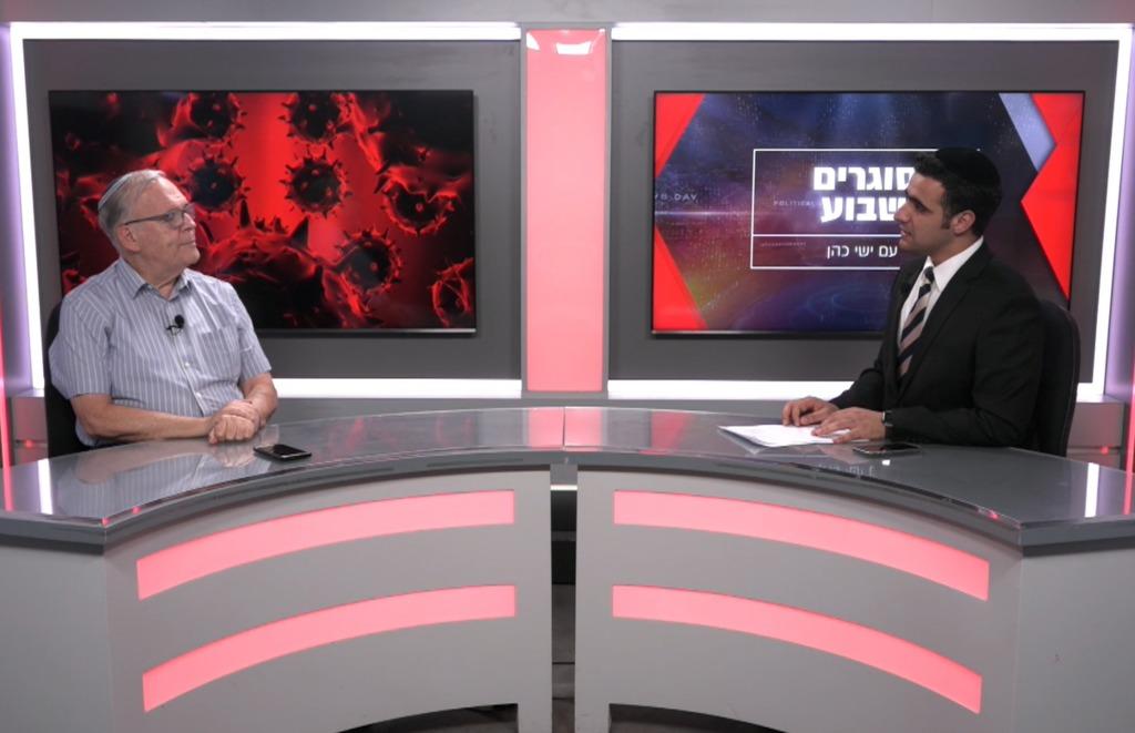 פרופסור יונתן הלוי בריאיון לישי כהן