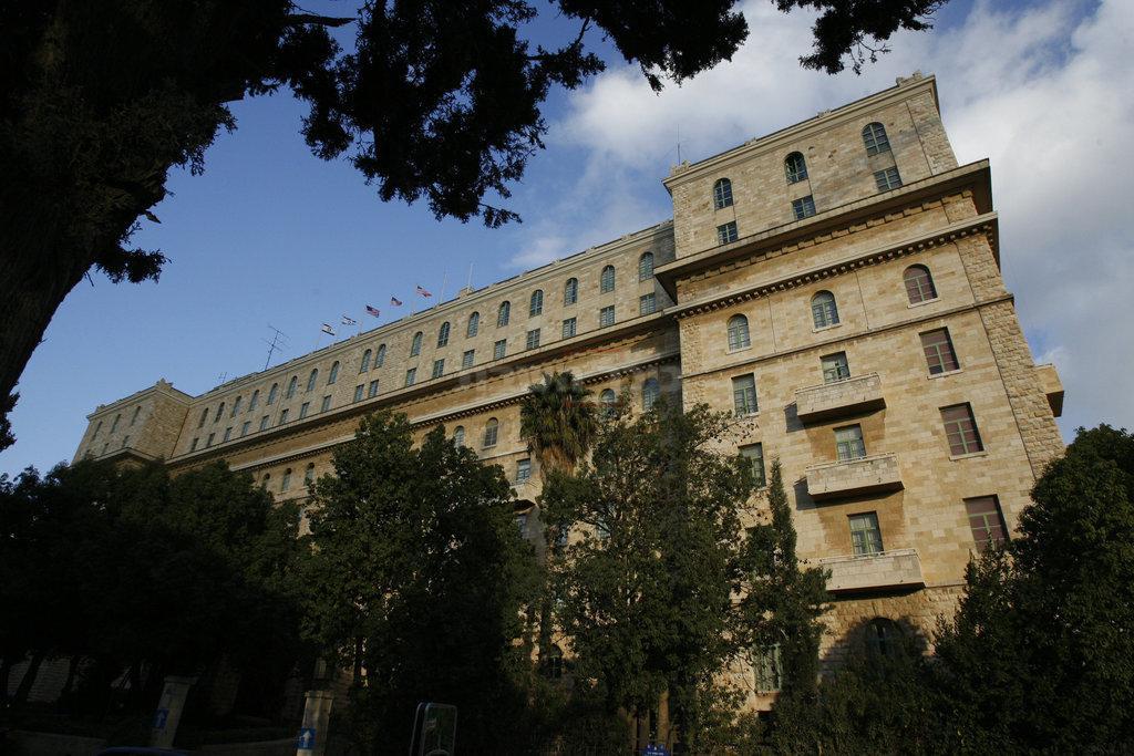 מלון 'המלך דוד' (צילום: Michal Fattal/ Flash90 )